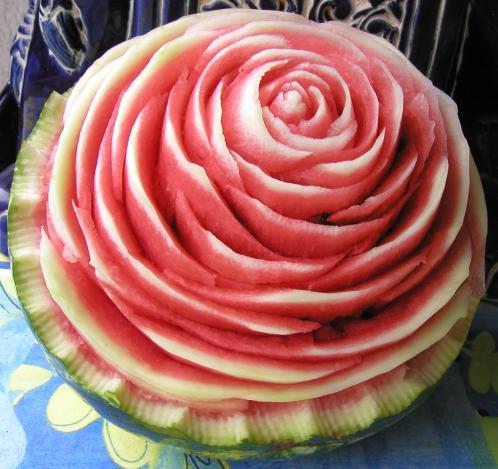 Melonen-Rose