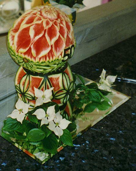 Geburtstags-Melone